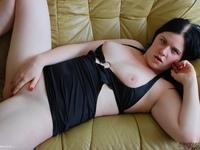 LusciousModels - Mona Summers Short Black Dress Pt1